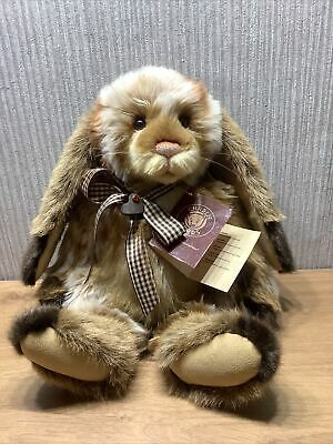 £403.75 • Buy Charlie Bear Plush Collectable Soft Toy Rare Retired Original Tag Rabbit Bridie