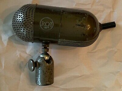 $320.42 • Buy Beautiful Vintage Rca Model Type 88-a Professional Broadcasting Microphone