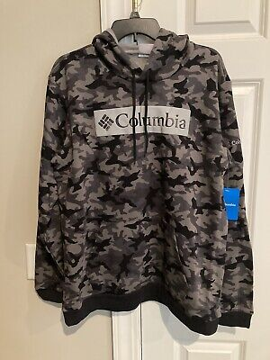 $34.99 • Buy Columbia Hoodie  XL Camouflage Camo Mens Hooded Sweatshirt NEW WITH TAGS $90.