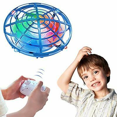 AU42.32 • Buy  Flying Toys, Drone For Kids Boys Toys RC Drone Flying Ball With 2 Speeds Blue
