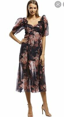 AU120 • Buy Alice Mccall Only Everything Dress Size 6 Races Wedding Formal Floral Postcard