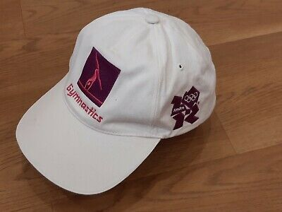 £15 • Buy London 2012 Official Product White Gymnastics Baseball Styled Cap
