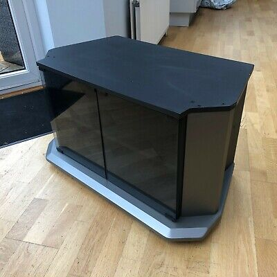 £40 • Buy TV Cabinet / Stand With Smoked Glass Doors
