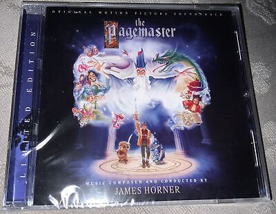 £15 • Buy The Pagemaster Complete Score CD - James Horner LSO Limited Edition New & Sealed