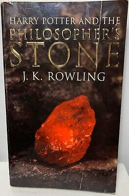 $ CDN60 • Buy Harry Potter Book Philosopher's Stone First Edition J.K. Rowling Novel