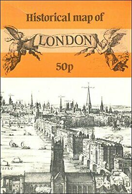 £3.99 • Buy London Historical Map By Bullock, L.G. Sheet Map Book The Cheap Fast Free Post