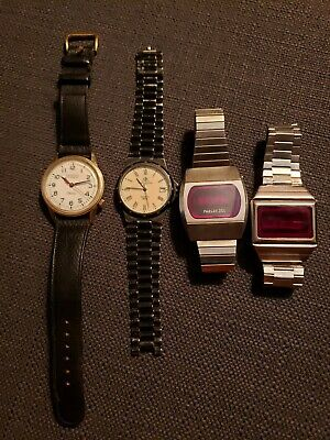 $ CDN6.65 • Buy Vintage Hamilton Electric, Baume & Mercier, Phasar 2000, Watch Parts/ Repair Lot