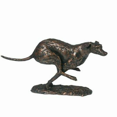 £140 • Buy  Greyhound Running Frith Cold Cast Bronze Sculpture PJ023 Statue Ornament