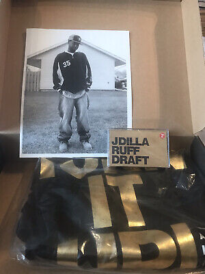 £55 • Buy J Dilla Turn It Up Ruff Draft Box T Shirt Cassette In Large New