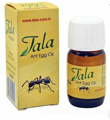 £10.99 • Buy Tala ANT EGG OIL Hair Reducing & Hair Removal Genuine Organic (20 Ml / 0,7 Oz)