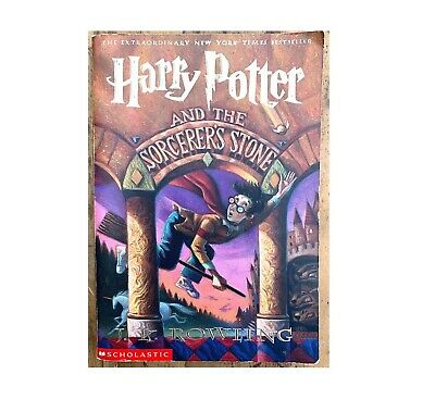 $ CDN70 • Buy Harry Potter Book Sorcerer's Stone Scholastic Paperback 1999 First Edition