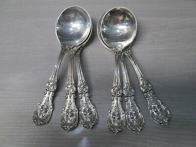 $ CDN278.28 • Buy Lot Of 6 Reed & Barton Francis I Sterling Silver Soupspoons