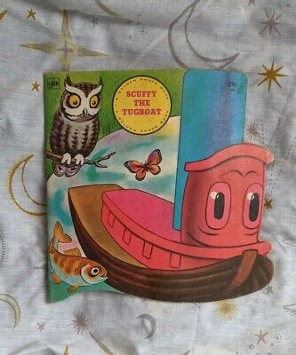 £0.99 • Buy Scruffy The Tugboat Vintage Book From Little Golden Books
