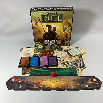 $ CDN16.94 • Buy 7 WONDERS DUEL 2 Player Strategy Board Game, 100 % Complete