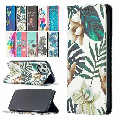 AU13.35 • Buy For IPhone 12 11 Pro Max XS XR 8 7 Plus SE2 Flip Leather Stand Wallet Case Cover