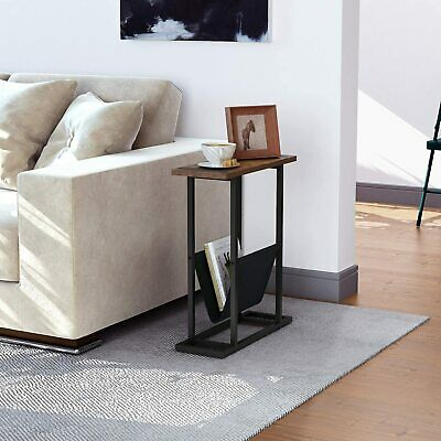 £44.79 • Buy Industrial Slim Side Table Narrow Sofa End Stand Lamp Plant Storage Console Hall