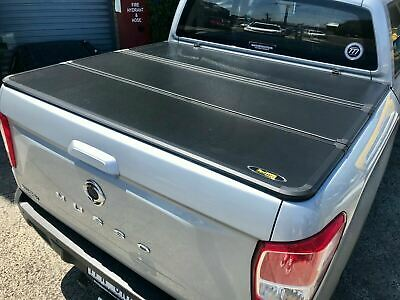 AU1100 • Buy Tri-Fold Hard Lid Tonneau Cover For SsangYong Musso XLV (Long Tub) 2018-current