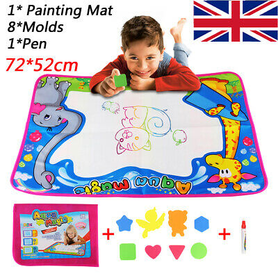 £5.98 • Buy Water Drawing Mat Magic Doodle Painting Board Creative Toys Kid Toddler Gift