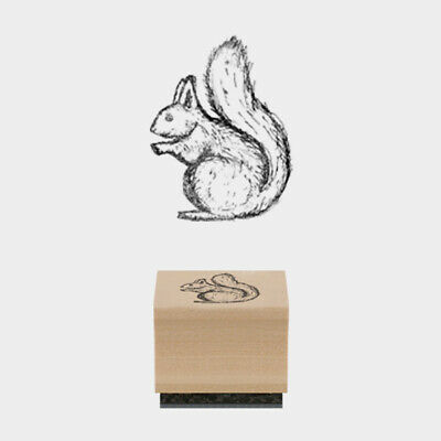 £3.49 • Buy East Of India Rubber Stamp Squirrel Card Making Craft Scrapbooking Stamping