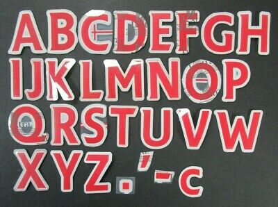 £1.50 • Buy 2007 2013 SPORTING ID LEXTRA PREMIER LEAGUE RED LETTERS 52mm = PLAYER SIZE