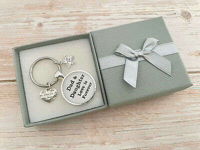 £5.99 • Buy Fathers Day Gifts For Dad Daddy Papa Grandpa Grandad / Birthday Gift Keyring