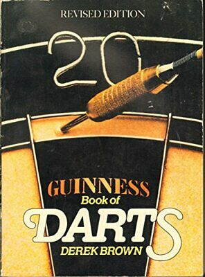 £11.99 • Buy Guinness Book Of Darts By Brown, Derek Hardback Book The Cheap Fast Free Post