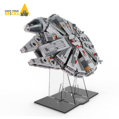 $36.98 • Buy Acrylic Display Stand For LEGO 75105 Millennium Falcon Building Toys