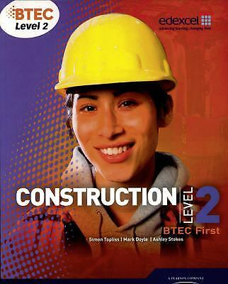 £15.39 • Buy BTEC Level 2 First Construction Paperback Mark Doyle