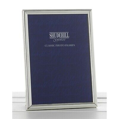 £8.99 • Buy Classic Silver Oblong Photo Picture Frame 6 X 8 Desk Display Home Decor