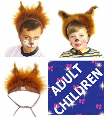 £9.20 • Buy Animal Red Squirrel Fancy Dress Hat Unisex Adults Kids Children Carnival Party