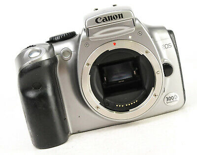 £14.99 • Buy  Canon EOS 300D DSLR Camera - Body Only - Spares & Repairs
