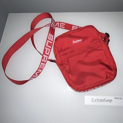 $ CDN200.98 • Buy Supreme Shoulder Bag Red SS18 Used Fast Shipping
