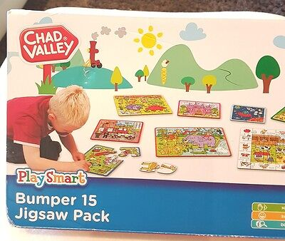 £28.64 • Buy New Chad Valley Play Smart Bumper 15 Pack Jigsaws . Easter