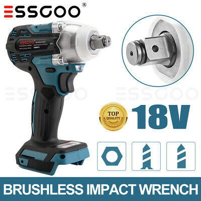 £18.98 • Buy Replace For MAKITA Impact Wrench Cordless Brushless 18V 1/2  Driver New