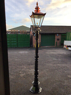 £495 • Buy Victorian Cast Iron Lamp Post And Top. Very Few Left In Stock !!