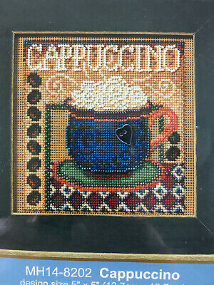 $12.95 • Buy Mill Hill Buttons & Beads Cross Stitch Kit -  Cappuccino
