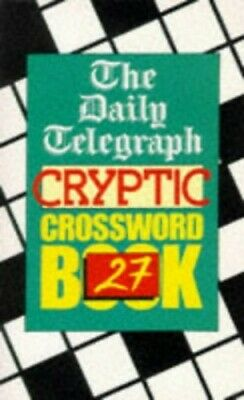 £7.99 • Buy Daily Telegraph Cryptic Crossword Book 27 By Telegraph Group Limited Paperback