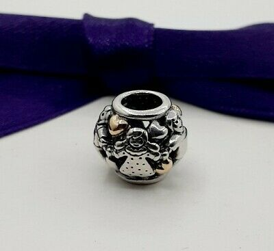 AU79 • Buy Genuine Pandora Family Forever Hearts Two Tone Gold Silver Charm #791040 Retired