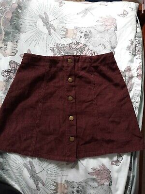 £1.99 • Buy Hearts And Bows Skirt. Size 10/12 Cord Boho Festival