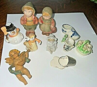 AU9.51 • Buy Lot Of MINI  ITEMS For Printers Tray Or Drawer, Variety Porcelain Or Pottery