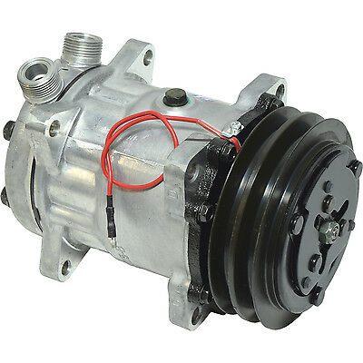 AU245.13 • Buy New 4643 Sanden Style Sd7h15  Compressor  W/ 2 Groove Clutch  1 X 14 Ftgs