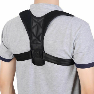 £2.99 • Buy Back Brace Posture Corrector Adjustable Spinal Lumbar Support Physical Therapy