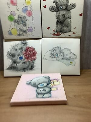 £13.56 • Buy Me To You Bear Canvas  X5 Pictures Collectable Tatty Teddy  Bundle Joblot