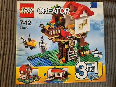 £41.99 • Buy New LEGO City Creator 3-in-1 Tree House Set 31010 Retired 2013 Factory Sealed