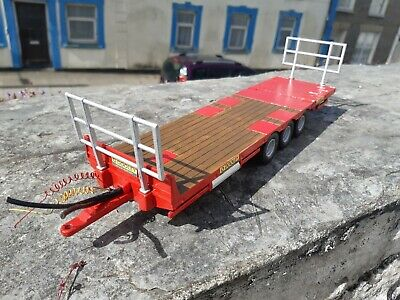 £40 • Buy Britains Conversion Dooley Bale  Trailer  Red For Tractor Siku