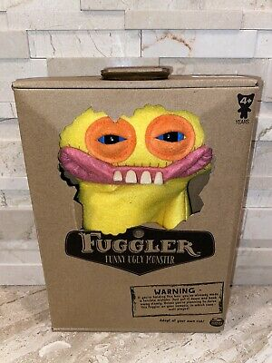 $ CDN23.06 • Buy FUGGLER - Funny Ugly Monster (Yellow) Plush By Spin Master