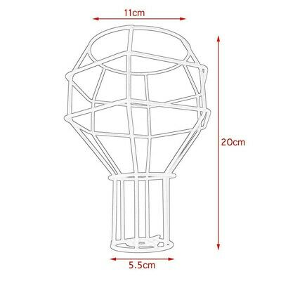 £8.72 • Buy Iron Wire Lampshade Frame Cage For Wall Chandelier Light Pendant Decor Supplies