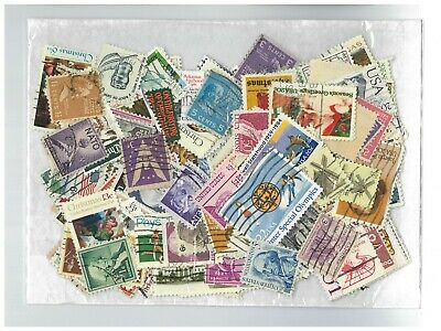 AU5 • Buy USA Pack Of 200 Different Stamps All Used Off Paper