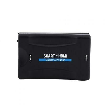 £8.25 • Buy Scart To Adapter ABS Mini Scart To Video Converter Black Lightweight For TV