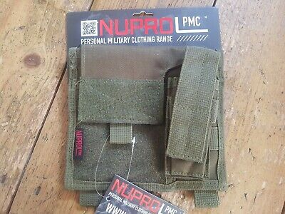 £11.99 • Buy NUPROL NP PMC Tactical Molle Admin / Commanders Pouch - Olive Green - New